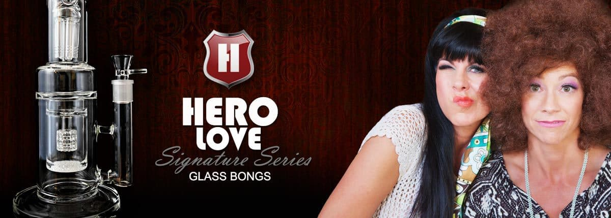 Bongs By HERO LOVE